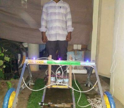 Rytu bandu organic farming machine